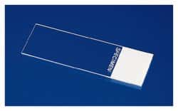 Superfrost™ Plain and Frosted Clipped Corner Microscope Slides for Sysmex, Clipped Corner