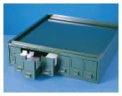 RA Lamb Seven-Drawer Filing Cabinets