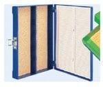 RA Lamb Plastic Slide Box, holds 100 slides