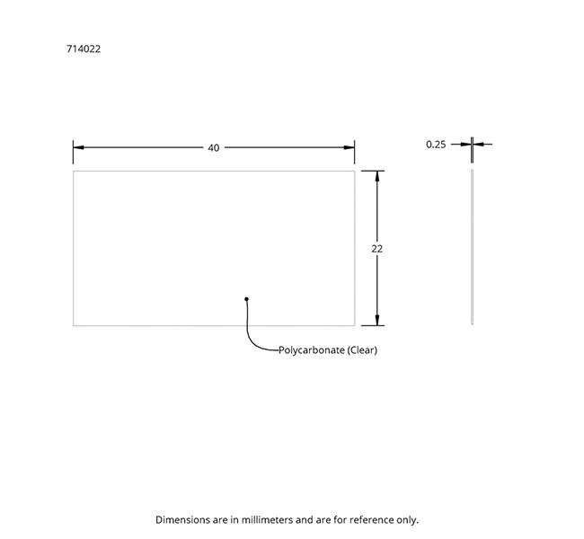 Drawing of HybriSlip Hybridization Cover