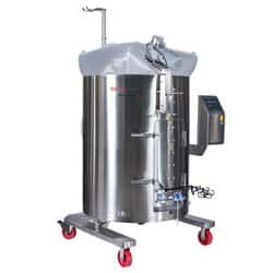 HyPerforma™ Single-Use Mixer, 1000 L, jacketed, DC motor, touchscreen console, with load cells