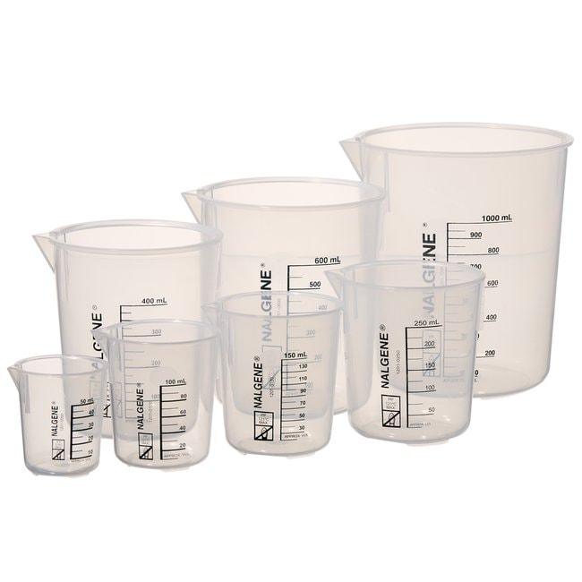 Nalgene™ Griffin Low-Form Plastic Beaker Variety Pack