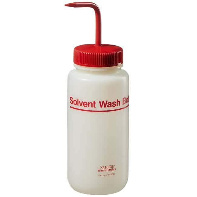 Nalgene™ Fluorinated HDPE Solvent Wash Bottle