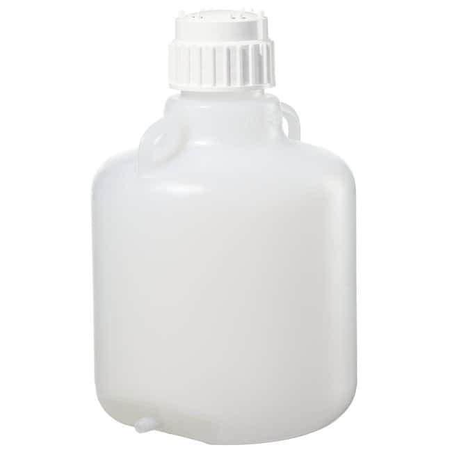 Nalgene™ Polypropylene, Carboy with Bottom Tubulation