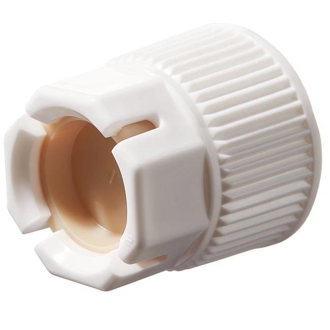 Nalgene™ Polypropylene, Spigot Closure with Polypropylene Lock Nut and TPE plug
