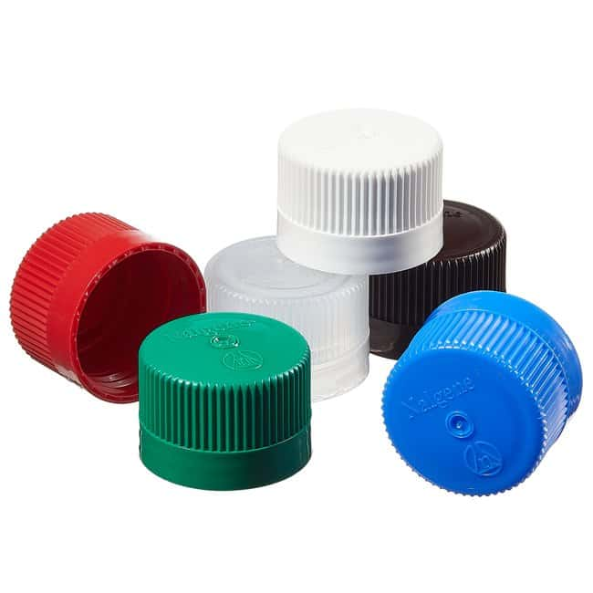 Nalgene™ Colored Polypropylene Closures with 38-430 Finish