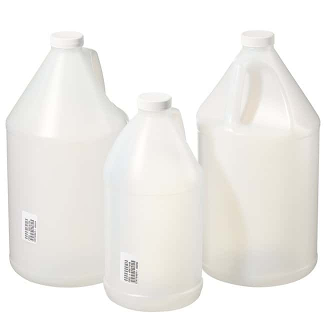 HDPE Jugs with White LDPE Foam-Lined Polypropylene Screw Closure