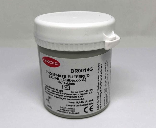 Oxoid™ Phosphate Buffered Saline Tablets
