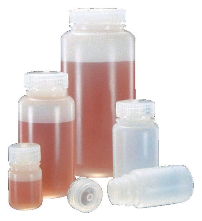 Nalgene™ Wide-Mouth HDPE Economy Bottles with Closure