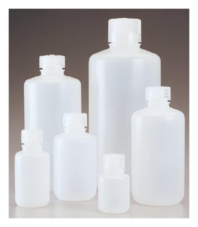 Nalgene™ Narrow-Mouth PPCO Economy Bottles with Closure