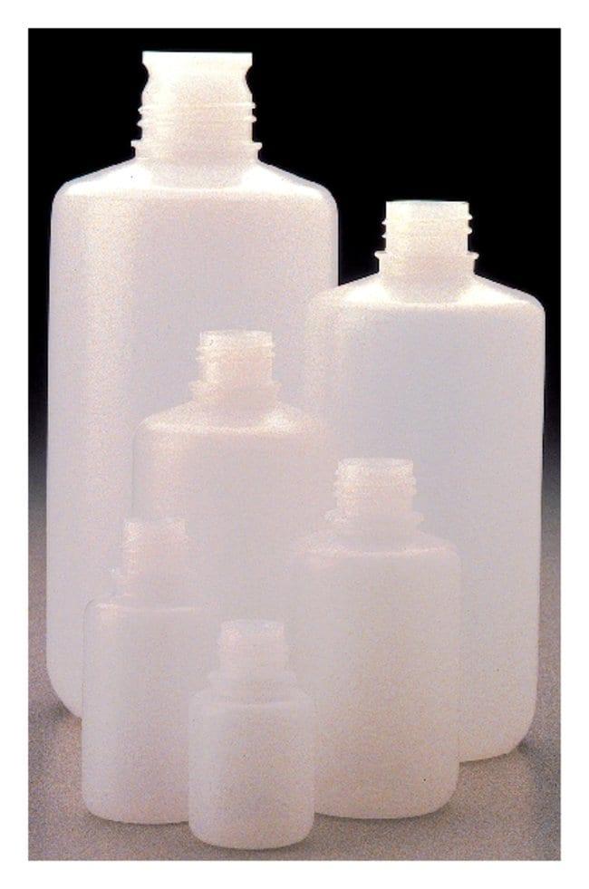 Nalgene™ Boston Round HDPE Bottles without Closure: Bulk Pack