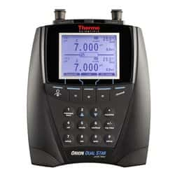 Orion™ Dual Star™ pH, ISE, mV, ORP and Temperature Dual Channel Benchtop Meter