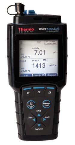 Orion Star™ A325 pH/Conductivity Portable Multiparameter Meter