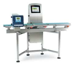 Combination Checkweigher and Metal Detector