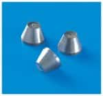 Brass Nuts for 15% Graphite/85% Vespel Ferrules