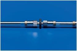 PTFE One-Piece HPLC Column Connector