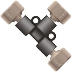 PEEK™ Unions, Tees and Crosses for High-Pressure HPLC Connections