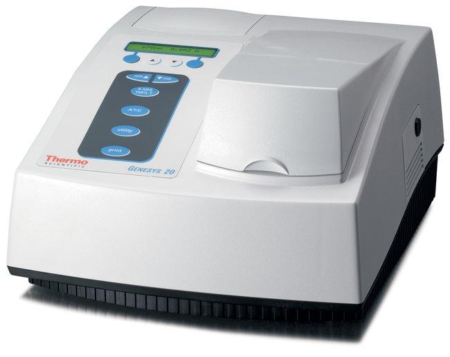 genesys 20 visible spectrophotometer rh thermofisher com Service Manual Genesys 20 Spectrophotometer Genesys 20 Model 4001
