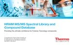High-Resolution Accurate-Mass MS/MS Spectral Libraries