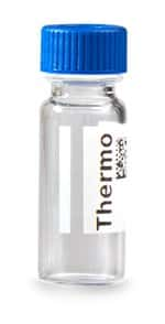 Virtuoso™ 9mm Wide Opening Clear Glass Screw Thread Vial with V-Patch