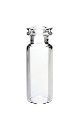 11mm Clear Glass Crimp Top Vials