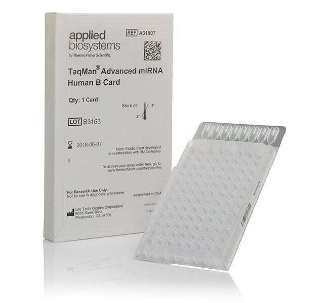 TaqMan™ Advanced miRNA Human B Card