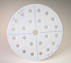 Nalgene™ 230mm Ceramic Metal Desiccator Plate