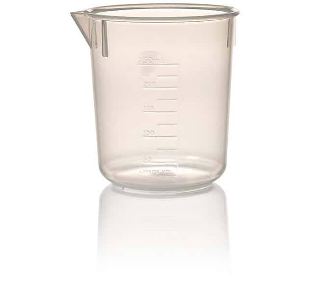 Nalgene™ Economy Polypropylene Griffin Low-Form Plastic Beakers