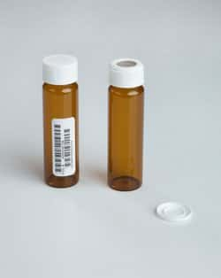 Amber Clean Snap Vials with 0.125in. Septa