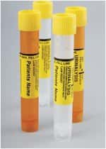 Capitol Vial  Urinalysis Transport Systems