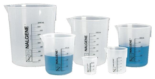 Thermo Scientific™ Nalgene™ Polypropylene Griffin Low-Form Plastic Beakers