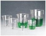 Nalgene™ PMP Griffin Low-Form Plastic Beaker