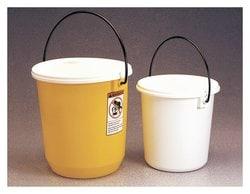 Nalgene™ LDPE Buckets with Lids