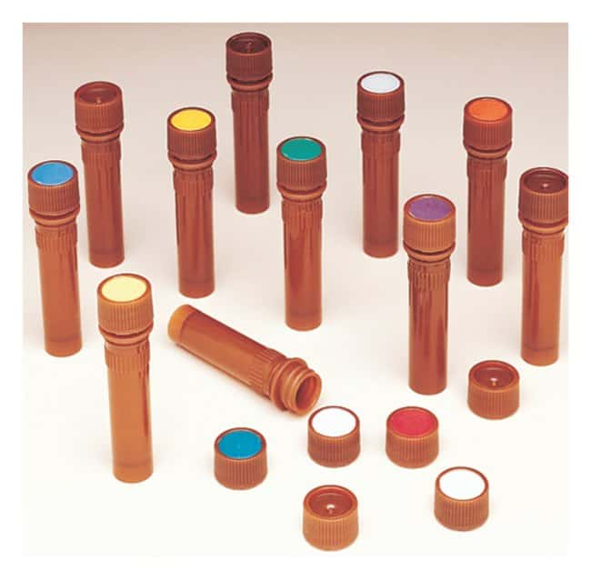 Nalgene™ PPCO Amber Micro Packaging Vials: Nonsterile, Bulk Pack