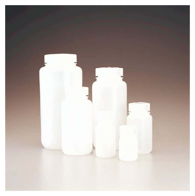 Nalgene™ Wide-Mouth Lab Quality HDPE Bottles