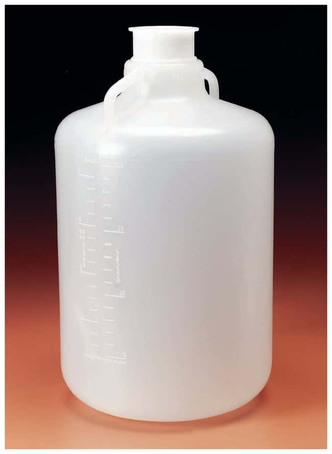 Nalgene™ Polypropylene, Carboy with 3″ Sanitary Neck