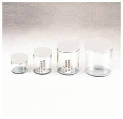 Wide-Mouth VOA Glass Jars with Closure
