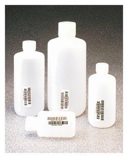 Nalgene™ Certified Narrow-Mouth HDPE Bottle with Polypropylene Screw Closure