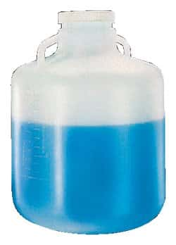 Nalgene™ Wide-Mouth LDPE Carboys with Handles