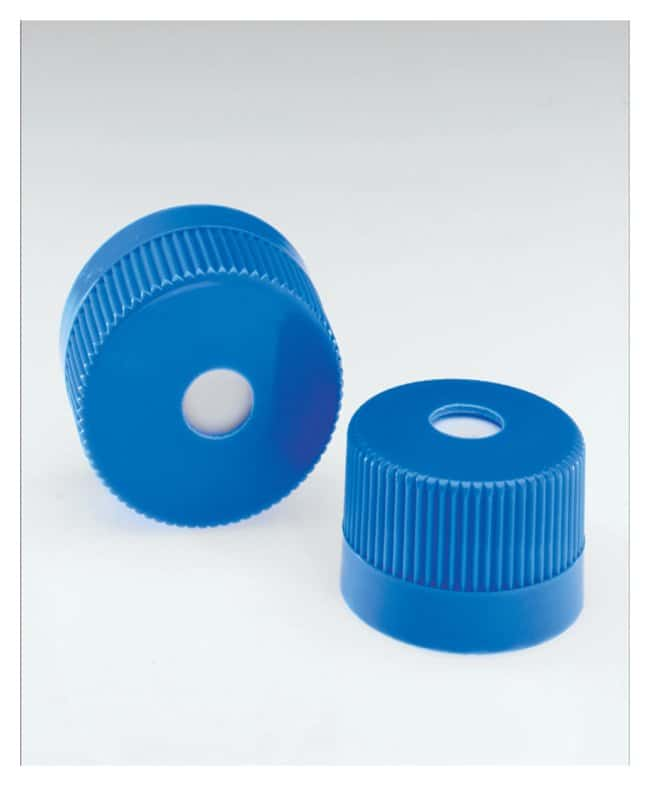 Nalgene™ Vented HDPE Closures for Sterile Single Use Erlenmeyer Flasks