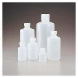 Nalgene™ Narrow-Mouth Natural HDPE Packaging Bottles with Closure: Bulk Pack