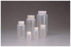 Nalgene™ Wide-Mouth PPCO Packaging Bottles with Closure: Bulk Pack