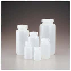 Nalgene™ Wide-Mouth HDPE Packaging Bottles with Closure: Bulk Pack