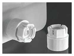Nalgene™ Spigot Closure with Polypropylene Lock Nut and TPE plug