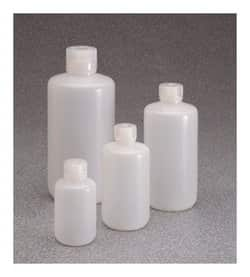 Nalgene™ Certified Low Particulate Narrow-Mouth HDPE Bottles with Closure: Lab Pack