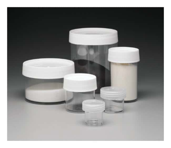 Nalgene™ Straight-Sided Wide-Mouth Polycarbonate Jars with Closure