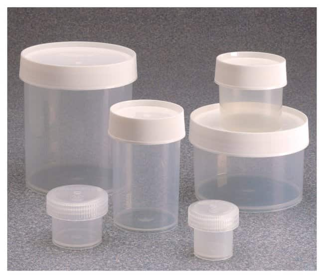 Nalgene™ Wide-Mouth Straight-Sided PPCO Jars with Closure