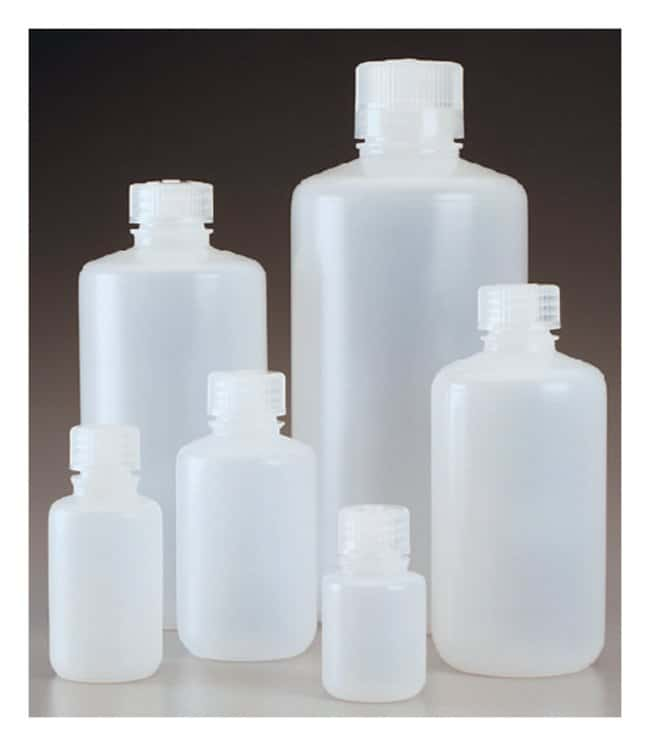 Nalgene™ Narrow-Mouth HDPE Economy Bottle