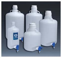 Nalgene™ Round LDPE Carboys with Spigot