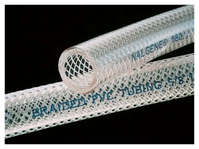 Nalgene™ 980 Braided Clear PVC Tubing